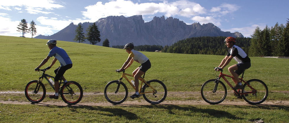 Mountainbike-Touren Dolomiten